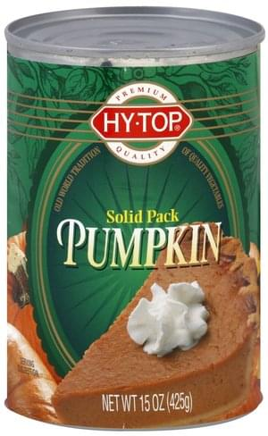 Hy Top Solid Pack Pumpkin - 15 oz