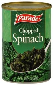 Parade Spinach Chopped