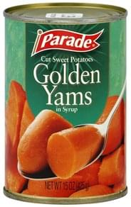 Parade Golden Yams In Syrup