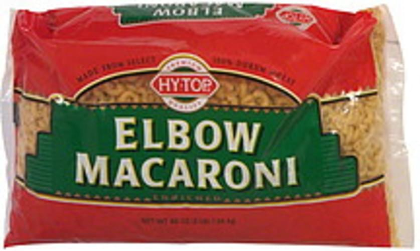 Hy-Top Enriched Elbow Macaroni - 48 oz