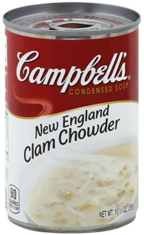 England Clam Chowder Soup