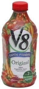 V8 100% Vegetable Juice Original, Essential Antioxidants