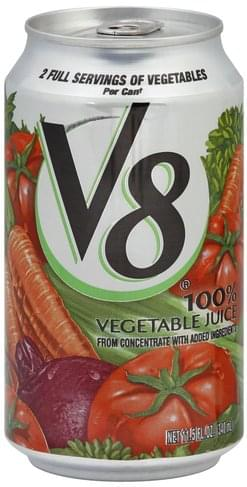 V8 100% Vegetable Juice - 11.5 oz