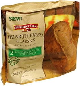 Pepperidge Farm Artisan Bread Rosemary Olive Oil Petite Loaves