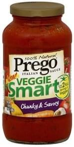 Prego Italian Sauce Veggie Smart, Chunky & Savory