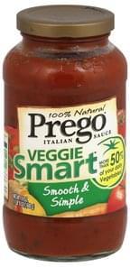 Prego Italian Sauce Smooth & Simple