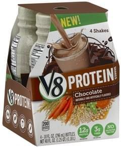 V8 Protein Shakes Chocolate