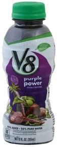 V8 Vegetable & Fruit Beverage Purple Power