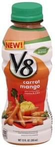 V8 Juice Beverage Veggie Blend, Carrot Mango
