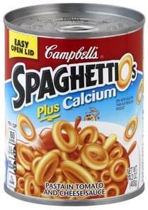 SpaghettiOs Pasta Plus Calcium