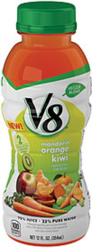 V8 Mandarin Orange Kiwi Vegetable & Fruit Juice Beverage - 12 oz