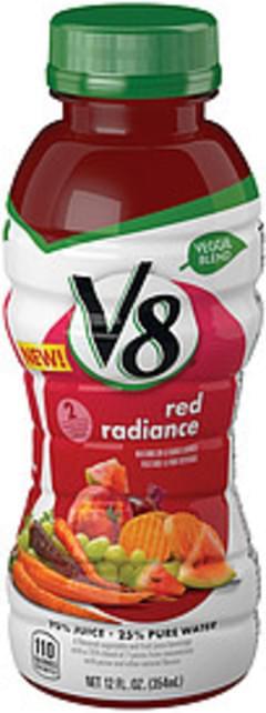 V8 Vegetable & Fruit Juice Beverage Red Radiance