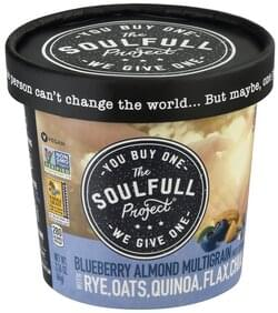 The Soulfull Project Hot Cereal Blueberry Almond Multigrain