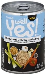 Campbells Soup Hearty Lentil with Vegetables