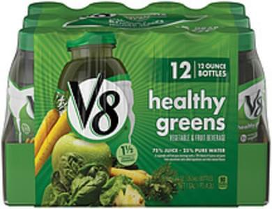 V8 Vegetable & Fruit Beverage Healthy Greens