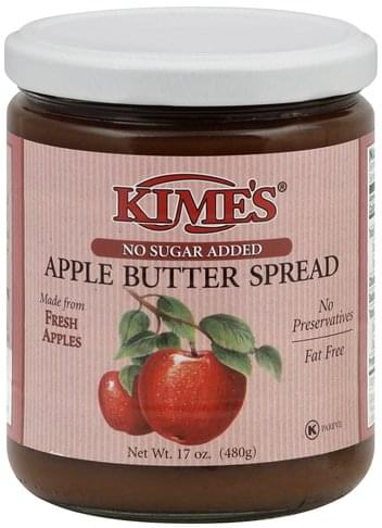 Kimes No Sugar Added Apple Butter Spread - 17 oz