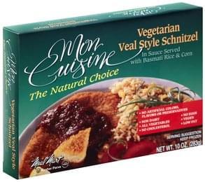 Mon Cuisine Veal Style Schnitzel Vegetarian