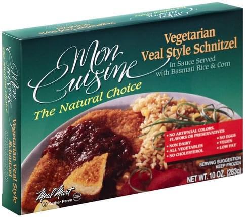 Mon Cuisine Vegetarian Veal Style Schnitzel - 10 oz