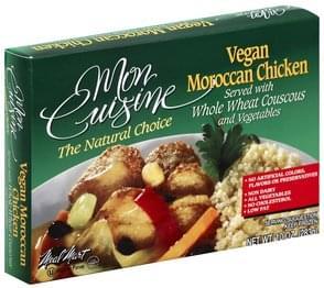 Mon Cuisine Moroccan Chicken Vegan
