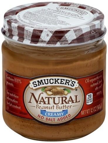 Smuckers Creamy Peanut Butter - 12 oz