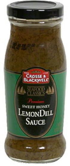 Crosse & Blackwell Sweet Honey LemonDill Sauce