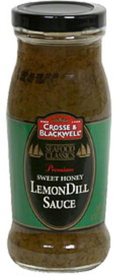Crosse & Blackwell Sweet Honey LemonDill Sauce