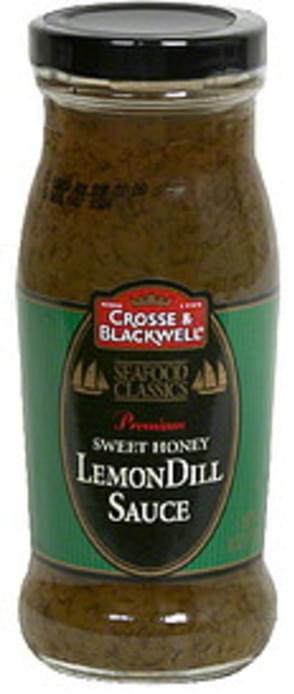 Crosse & Blackwell Sweet Honey LemonDill Sauce - 8.5 oz