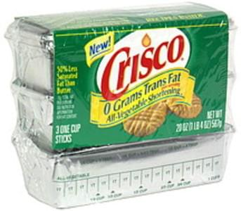 Crisco All-Vegetable Shortening Sticks