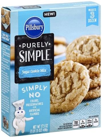 Pillsbury Sugar Cookie Mix - 17.5 oz