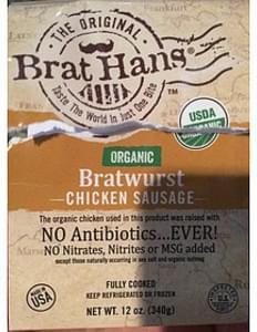 Brat Hans Organic Bratwurst Chicken Sausage