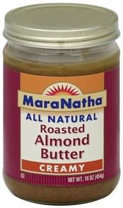 MaraNatha Almond Butter Roasted, Creamy