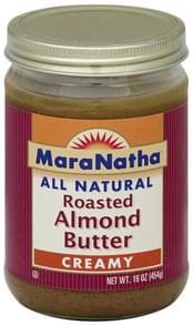 Maranatha Almond Butter Roasted, Creamy
