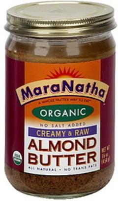 Maranatha Almond Butter Creamy & Raw