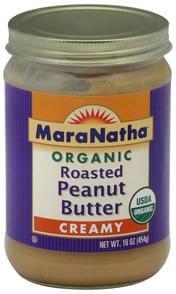 Maranatha Peanut Butter Roasted, Creamy, Organic