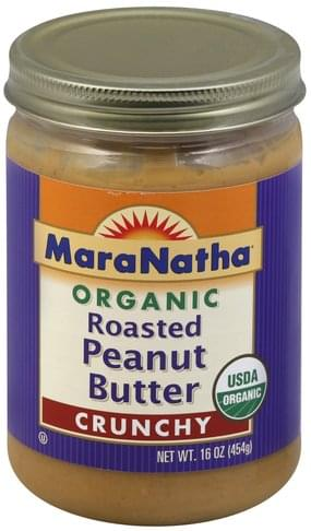 Maranatha Roasted, Organic, Crunchy Peanut Butter - 16 oz