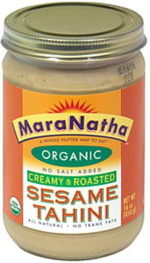 Maranatha Creany & Roasted Sesame Tahini - 16 oz