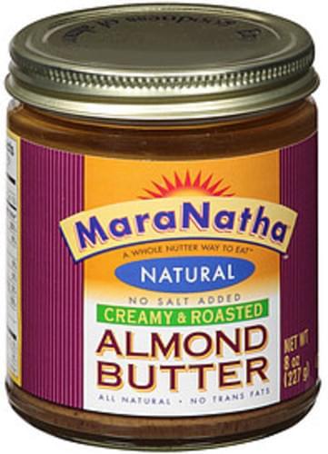 Maranatha Creamy & Roasted Natural Almond Butter - 8 oz