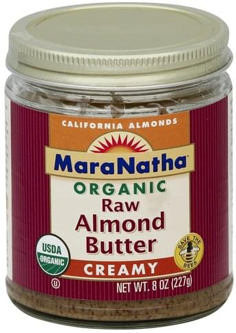 Maranatha Organic, Creamy Almond Butter - 8 oz