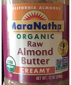 Maranatha Raw Almond Butter