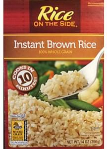 Rice on The Side Instant Brown Rice