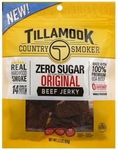 Tillamook Beef Jerky Zero Sugar, Original
