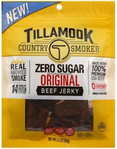 Tillamook Zero Sugar, Original Beef Jerky - 2.2 oz