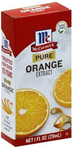 Mccormick Pure Orange Extract - 1 oz