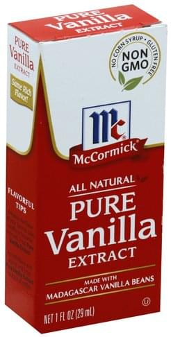 Mccormick Pure Vanilla Extract - 1 oz