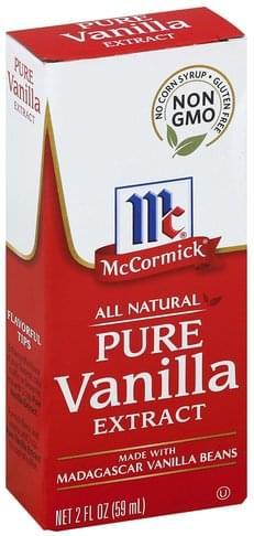 Mccormick Pure Vanilla Extract - 2 oz