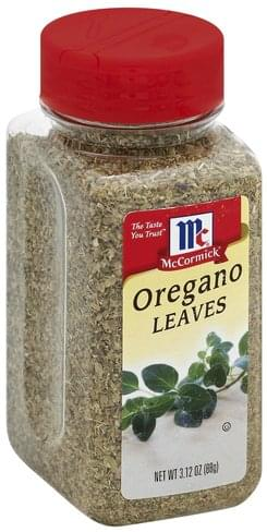 McCormick Leaves Oregano - 3.12 oz