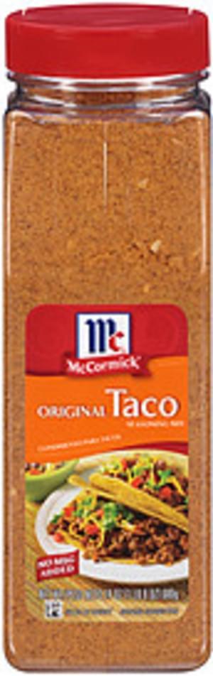 Mccormick Original Taco Seasoning Mix 24 Oz Nutrition Information Innit