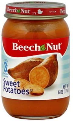 Beech Nut Sweet Potatoes Stage 3