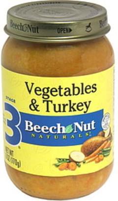 Beech Nut Vegetables & Turkey Stage 3