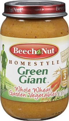 Beech Nut Whole Wheat Garden Vegetables Baby Food